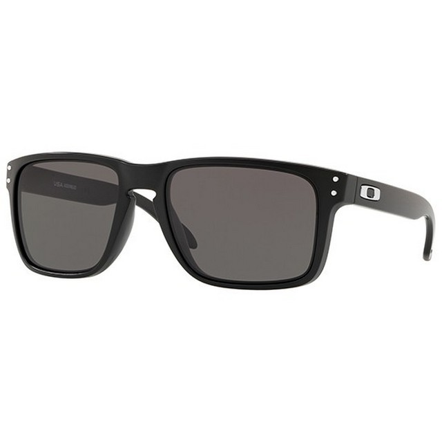 Oakley OO9417 01 HOLBROOK XL MATTE BLACK WARM GREY napszemüveg